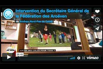 Intervention sur France 5